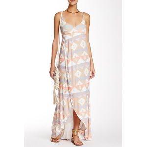 Wildfox Atlantis Maxi Wrap Dress
